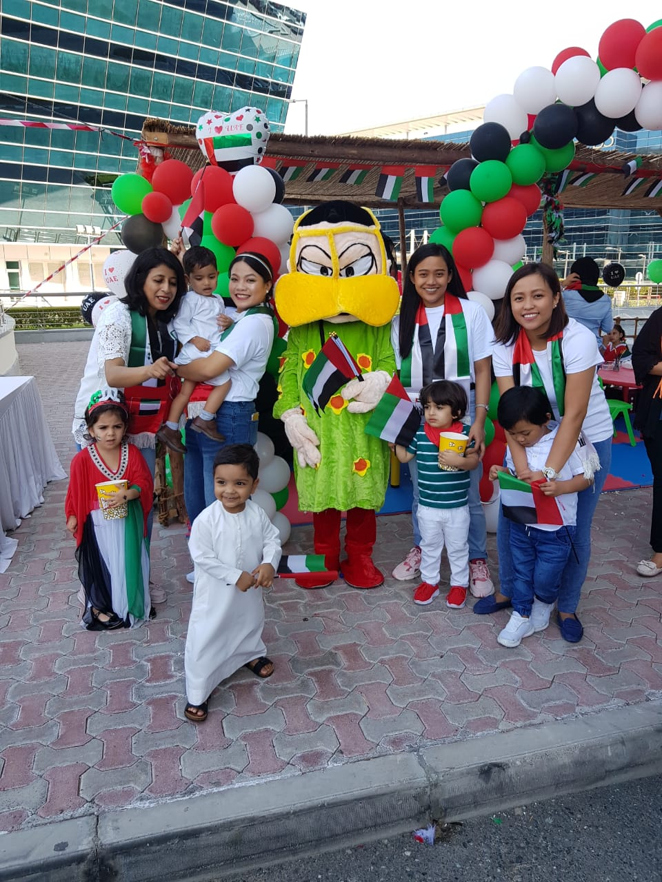 BlueBirdNursery DubaiSouth-National Day Celebration 2019