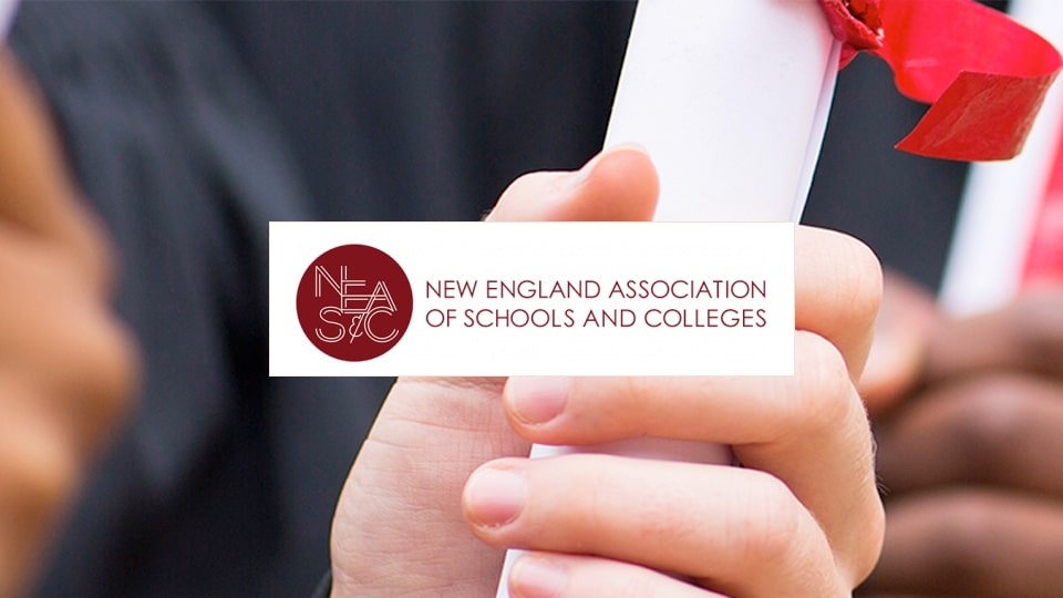 New Academy School received official certificate of NEASC Accreditation