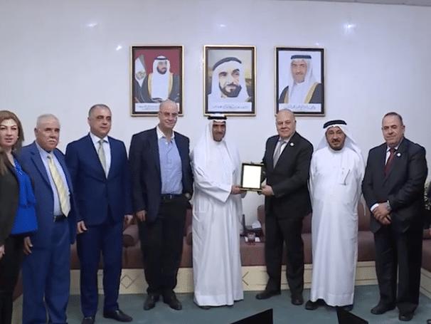 Fujairah ruler host delegation of Association of Arab Universities
